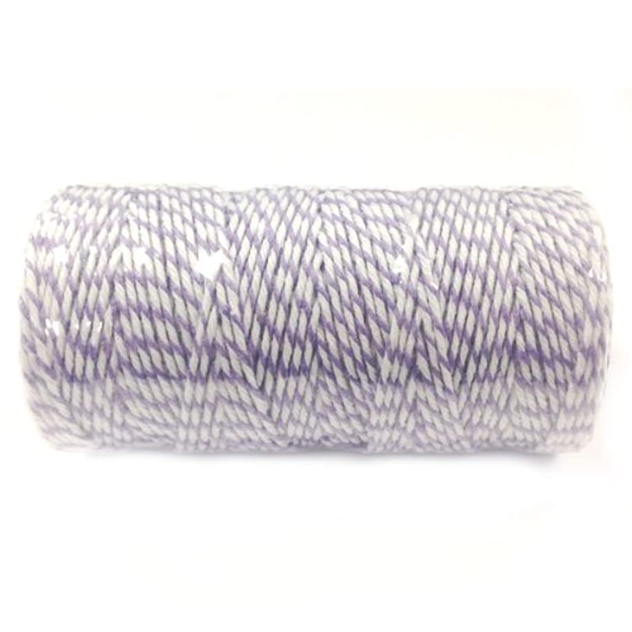Wrapables Cotton Baker's Twine 12ply 110 Yard, Lavender