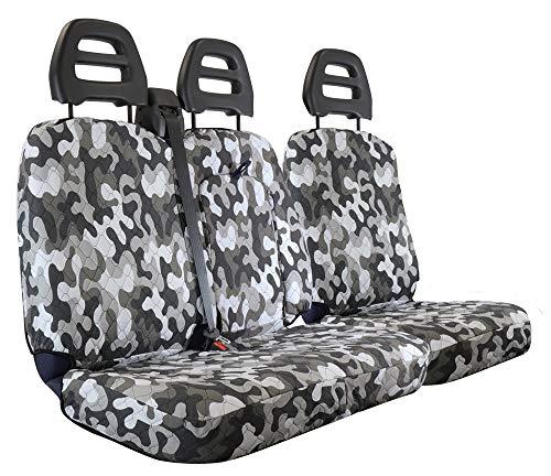 CORA 001702564 stoelhoezen voor transporter, Mimetic grijs