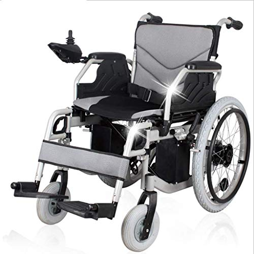 Mdhk Folding Electric Wheelchair Portable Dual Function Elderly People with Disabilities Walker