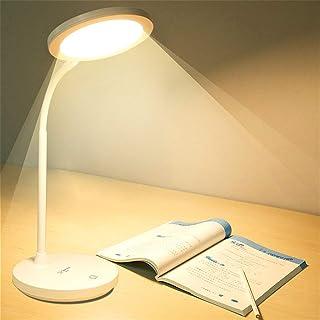 VGGV Study Table Lamp Portable Led Desk Lamp USB Rechargeable 1200mAh Battery-Powered Reading Lamp Desktop Table Lamps 3 C...