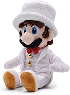 Mario Groom Plush Super Mario Odyseey Plush with Wedding Suit Plush Toy 14
