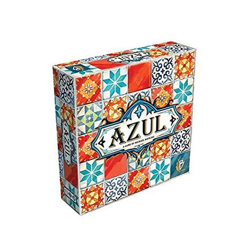 Azul Tile Master Strategie Kartenspiel Tragbares Reisebrettspiel Adult Party Freizeitspielzeug Spieleabend Kinder (Englische Und Deutsche Version),Deutsche