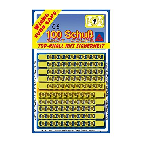 Sohni-Wicke NEU Munitionsstreifen 1-Schuss, Gesamt 100 Schuß