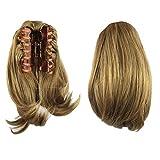Fouriding 9.8'Courte Postiche Extension Queue de Cheval d'extension de Cheveux Lisse...