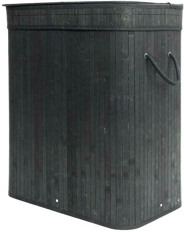 Large Rect Bamboo Hamper Laundry Basket Bi Storage Washing San Francisco Mall Cloth New item