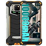 Rugged Smartphone Unlocked DOOGEE S88 Plus 10000mAh Big Battery 8GB + 128GB Android 10 Helio P70 Octa-core Waterproof Smartphone, 48MP Five Camera 4K Video 6.3' FHD+ Display Dual SIM 4G Rugged Phone