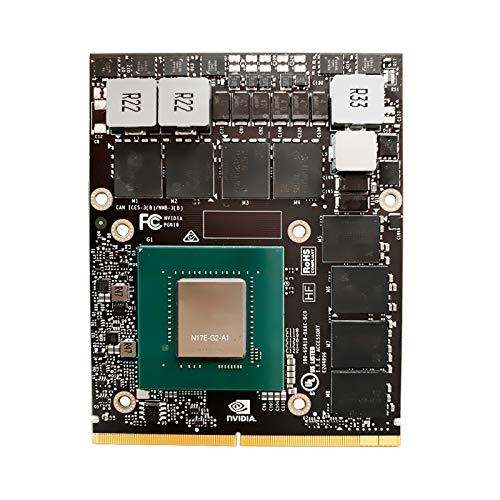 Grafikkarte GPU Upgrade Ersatz für Alienware 18 17 R1 R2 R3 R4 M17X R5 M18X R3 Gaming Laptop PC, Original NVIDIA GeForce GTX 1070 GDDR5 8 GB MXM VGA Board Reparatur Teile