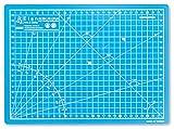 Elan Tappetino da Taglio A4 Blu, Tappetino Taglio 30 x 22 cm, Piano da Taglio, Tappetino Autorigenerante 5 Strati pvc, Cutting Mat Artigianale, Base di Taglio per Taglierine