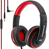 Audiance 3.5 mm A2 Premium Over-Ear Stereo Headphone - Black/Red-P