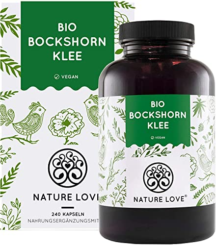 NATURE LOVE® Bio Bockshornklee - 240 vegane Kapseln