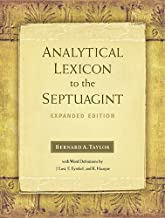 Best analytical lexicon to the septuagint Reviews