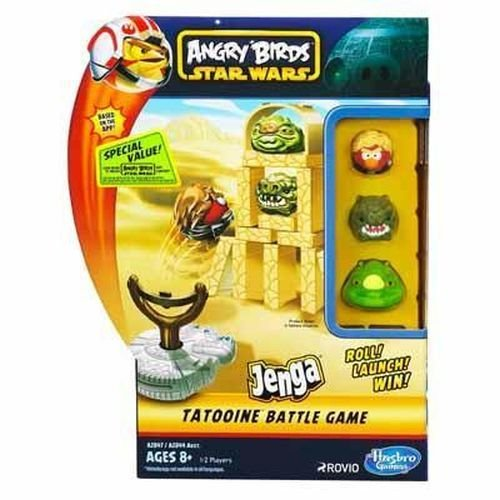 Hasbro - A2847 - Angry Birds Star Wars - Jenga - Tatooine (Import Royaume-Uni)