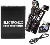 Electronicx Elec-M06-REN12 Adaptateur autoradio MP3 USB SD AUX Renault 12 Pin Quadlock Avantime, Clio, Espace, Kangoo,CD