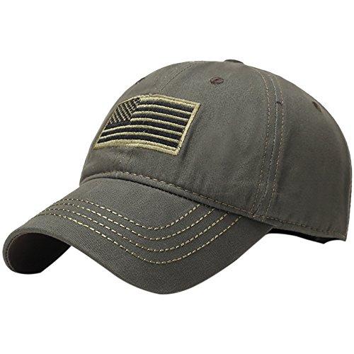Zdmathe Baseball Cap Tactical USA American Embroidered Flag Patch Operator Hut für Männer Frauen Outdoor Camping Sport Golf