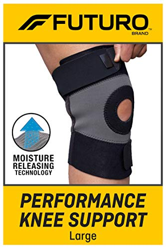 FUTURO Performance Knee Support, Ideal for General Support and Exercise, Large