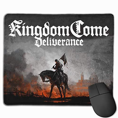 Kingdom Game Come Deliverance Computer-Mauspad mit rutschfestem Mauspad auf Gummibasis