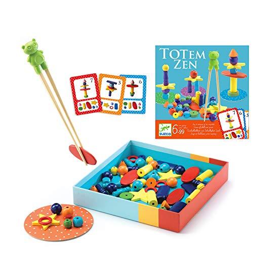 DJECO - Giochi d'azione e riflessi Giochi educativi DJECOGioco Totem Zen, Multicolore (15)
