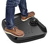 Standing Desk Mat Anti Fatigue - Anypro Comfort Mat, Not-Flat Ergonomic Comfort Mat with Foot Massage for Standing Desk, Floor Comfort Mat for Standing Desk Office Workstation, 30x24.6x4.2 in, Black