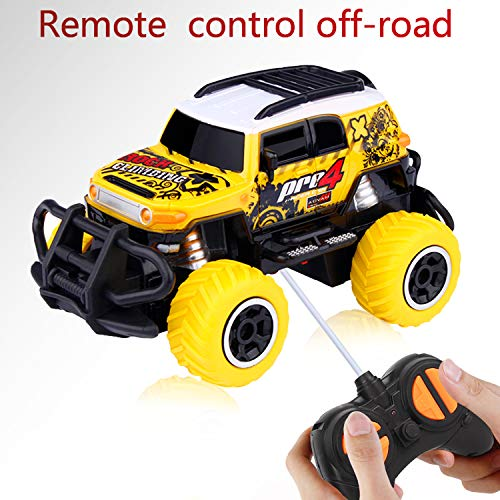 Hot Gifts for 3-9 Years Old Boy, Remote Control Car FJ Cruiser Car Toy for 3-10 Years Old Boys-Girls Best Birthday-Xmas Gift for Boys Toys Age 3-8 Years Old Indoor Games for Kids