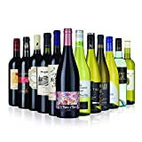 Customer Favourite Red and White Wine Mix - 12 bottles (