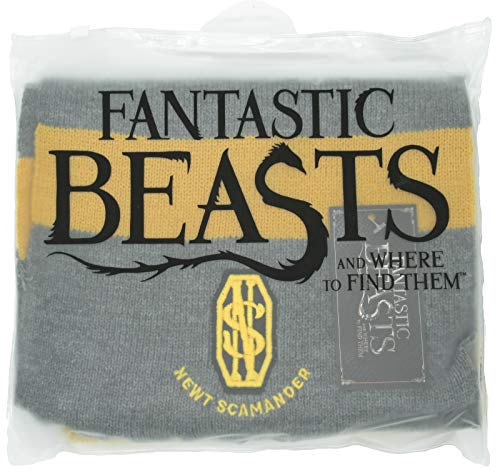 Fantastic Beasts and Where to Find Them Scarf NEWT SCAMANDER Ultra Soft - 100% Original WARNER BROS Fantastic Beasts