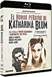 El honor perdido de Katharina Blum [Blu-ray]