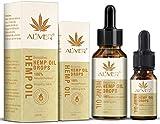 Bio-Active HEMP Oil Drops - (3000mg) 100% Organic Ultra Premium Formula - Hemp Oil Drop for Stress & Anxiety Relief, Sleep Support, Vegan Friendly from UK(30 10ml)