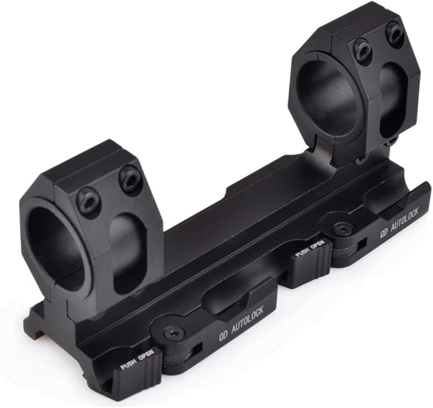 SEIGNEER ACOG 25.4mm30mm,Tactical Airsoft Rifle Scope Mount with QD Auto Lock