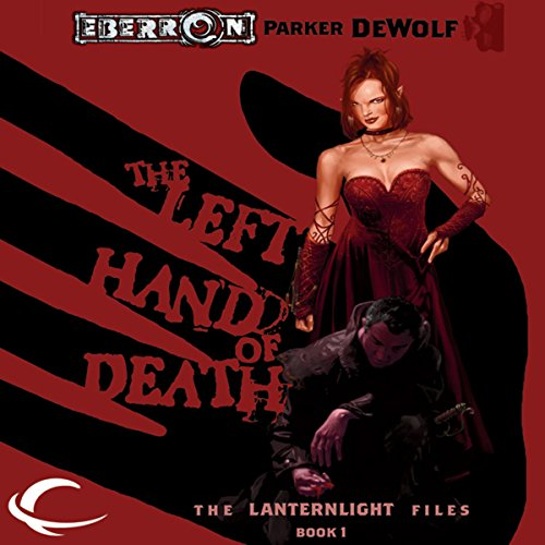 The Left Hand of Death audiobook cover art