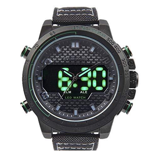 Kawasaki Carbon Watch Armbanduhr