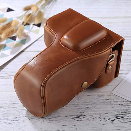 Full Body Camera PU Lederen Case Bag Full Body Camera zachte PU Lederen Case Bag voor Nikon D3200 / D3300 / D3400 (18-55mm / 18-105mm Lens)(Black) voor Sony A5100/Voor Nikon Digitale SLR Camera, BRON