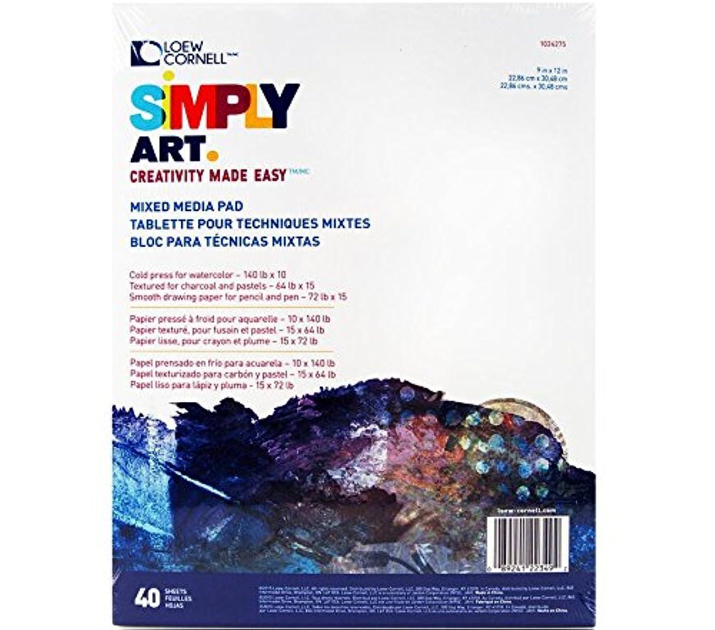 Loew-Cornell Simply Art Mixed Media Paper Pad rsh61849623