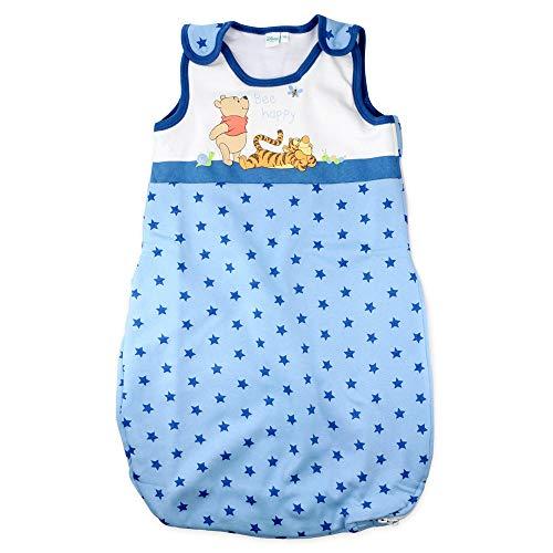 Babybogi Winnie Pooh Schlafsack Baby Unisex | Disney Baby Schlafsack gefüttert | Schlafsack für neugeborene | 0-18Monate 70cm 90cm Junge Mädchen (70cm (0-6 Monate))
