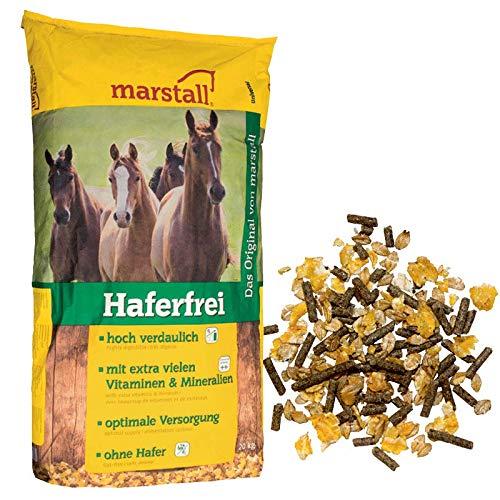 marstall Premium-Pferdefutter Haferfrei, 1er Pack (1 x 20 kilograms)