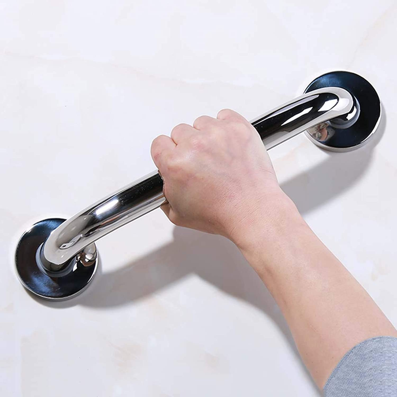 Bathroom handrail 304 Stainless Steel Polished Old Non-Slip Non-Slip handrail (58cm)