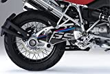 Kit de decoración e protección basculante Uniracing BMW R1200 04-'12, R1200GS Adv. '04-13', negro