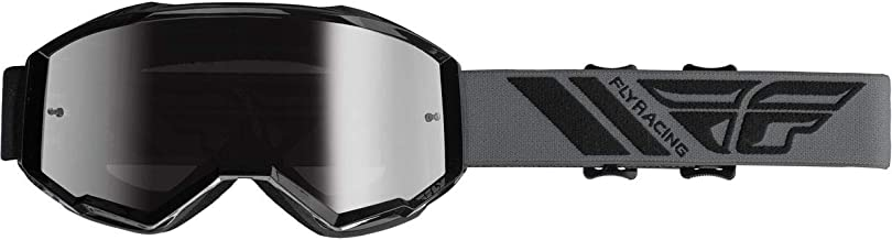 Fly Racing 2020 Zone Goggles (Black/Silver Mirror Lens)
