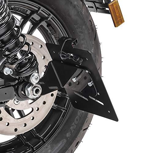 Soporte portamatrículas Lateral S para Harley Sportster 1200 CA Custom 13-16 ng.