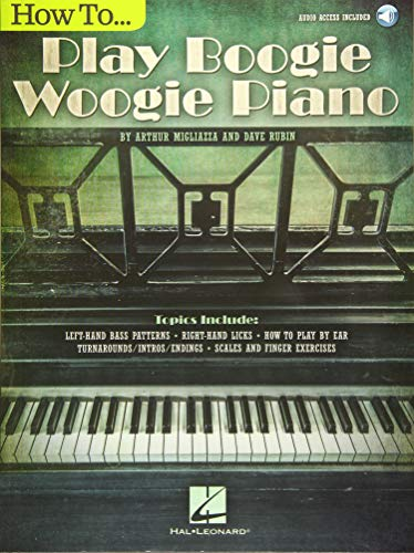 How To Play Boogie Woogie Piano (Book Audio)