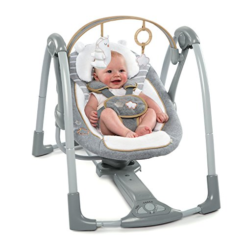 510b369KLAL 10 of the Best Baby Swing for Big Heavy Babies 2021 Review