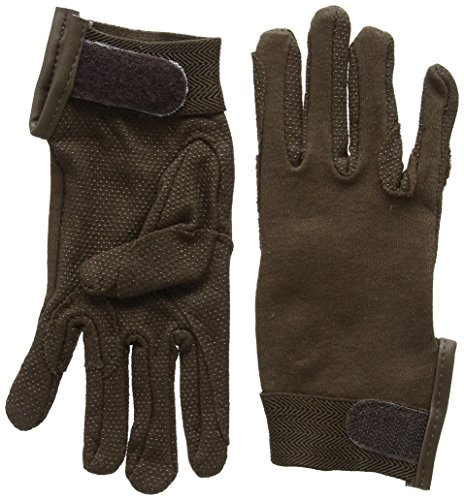 Pfiff 011318 Unisex Handschuhe Baumwolle , Reithandschuhe, braun (Braun), XS