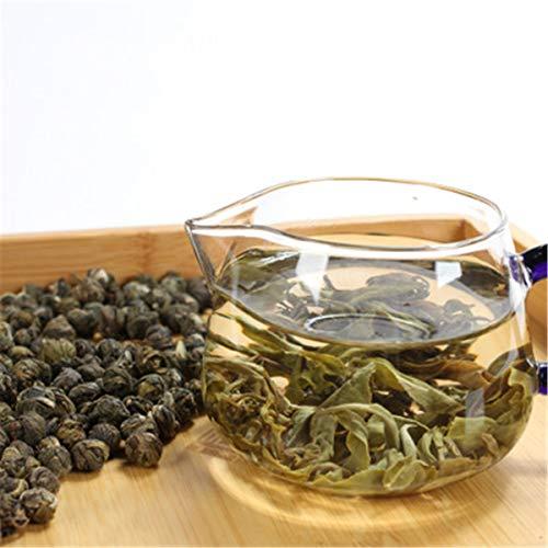 Jazmín Dragon Bead Tea Té verde crudo Té nuevo Té chino fresco Té verde Comida verde Té saludable (500.00)