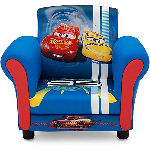 Delta Children Upholstered Chair, Disney/Pixar Cars