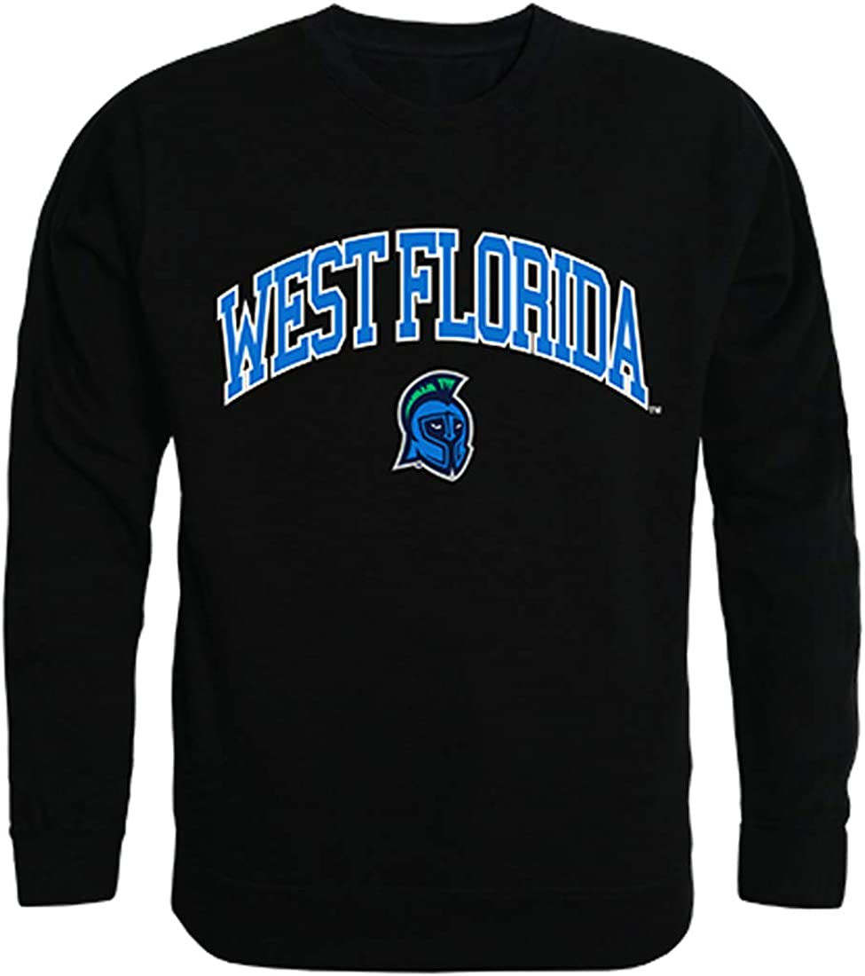 UWF University of Free Shipping Cheap Bargain Gift West Florida NCAA Fleece It is very popular Men's Campus Crewneck