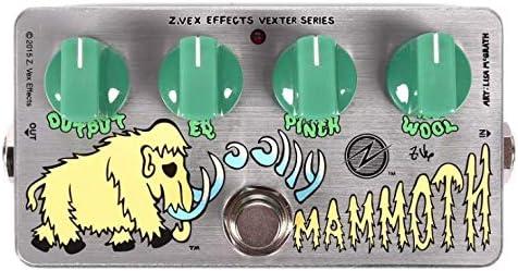 Zvex Germanium Woolly 訳あり品送料無料 本日限定 Mammoth Fuzz