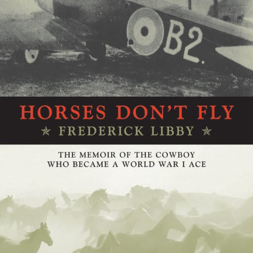 Horses Don't Fly audiobook cover art