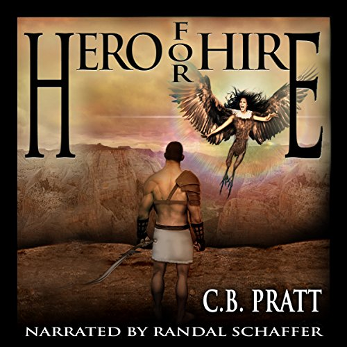 Fantasy Book Cover Artists For Hire : Hero for hire audiobook c b pratt audible