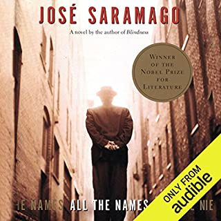 All the Names                   Written by:                                                                                                                                 Jose Saramago,                                                                                        Margaret Jull Costa (translator)                               Narrated by:                                                                                                                                 Traber Burns                      Length: 8 hrs and 59 mins     Not rated yet     Overall 0.0