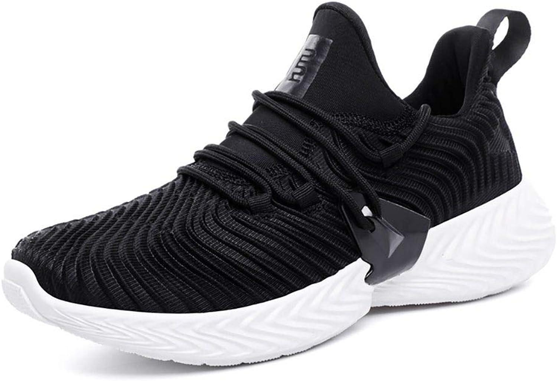 JiYe Men's Running shoes Free Transform Flyknit Tennis Walking Fashion Sneaker