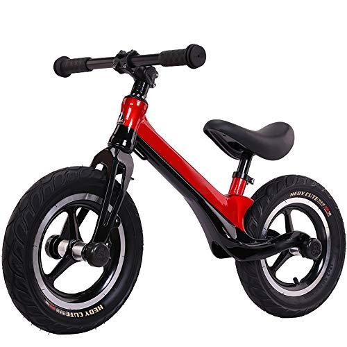 Balance Bike, Stride Walking Bike Kein Pedal Fahrrad mit verstellbarem Lenker und Sitz, Kleinkind Sport Training Fahrrad für 3-6 Jahre